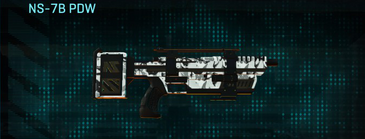 Forest greyscale smg ns-7b pdw