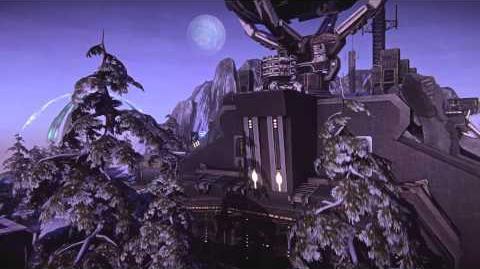 PlanetSide 2 Nexus Battle Island Fly Through