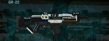 Esamir snow assault rifle gr-22