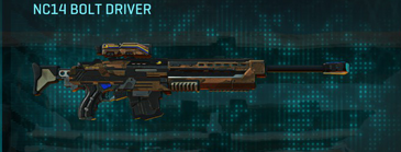 Indar rock sniper rifle nc14 bolt driver