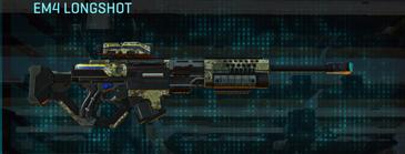 Pine forest sniper rifle em4 longshot
