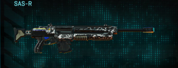 Snow aspen forest sniper rifle sas-r
