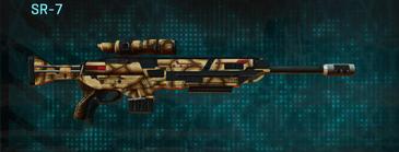 Giraffe sniper rifle sr-7