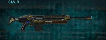 Indar highlands v1 sniper rifle sas-r