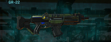 Amerish leaf assault rifle gr-22