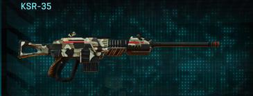 Desert scrub v1 sniper rifle ksr-35