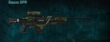 Amerish forest sniper rifle gauss spr