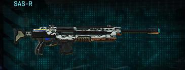 Forest greyscale sniper rifle sas-r
