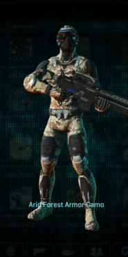 Nc arid forest infiltrator
