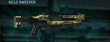 Palm shotgun nc12 sweeper