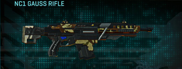 India scrub assault rifle nc1 gauss rifle