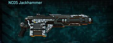 Forest greyscale heavy gun nc05 jackhammer