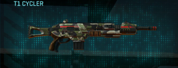 Woodland assault rifle t1 cycler