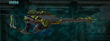 Jungle forest sniper rifle xm98