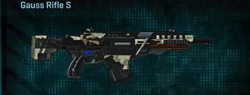 Desert scrub v1 assault rifle gauss rifle s