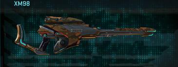 Indar rock sniper rifle xm98