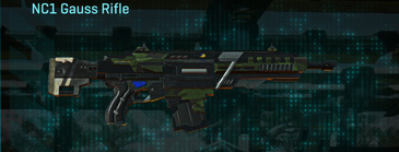 Amerish leaf assault rifle nc1 gauss rifle