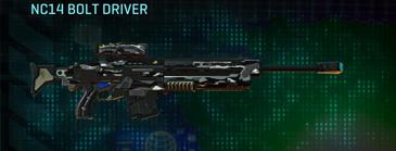 Indar dry brush sniper rifle nc14 bolt driver