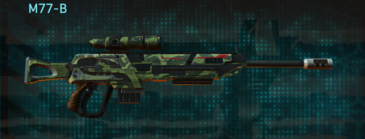 Amerish forest sniper rifle m77-b