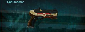 Sandy scrub pistol tx2 emperor