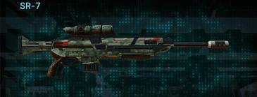 Amerish brush sniper rifle sr-7