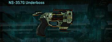 Amerish brush pistol ns-357g underboss