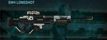 Rocky tundra sniper rifle em4 longshot