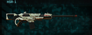 Indar dry ocean scout rifle hsr-1