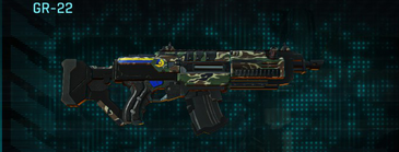 Scrub forest assault rifle gr-22