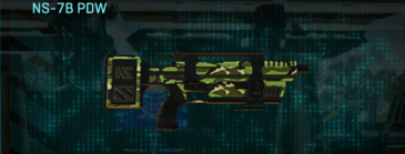 Jungle forest smg ns-7b pdw