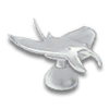 Manta Ray Hood Ornament