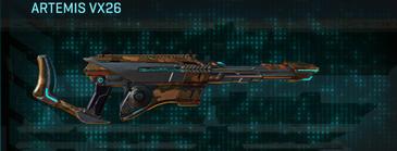 Indar rock scout rifle artemis vx26