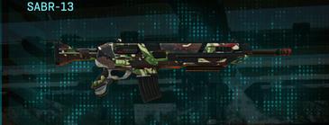 African forest assault rifle sabr-13