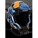 Retracted Foreman Helmet