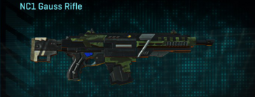 Amerish forest v2 assault rifle nc1 gauss rifle