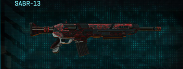 Tr digital assault rifle sabr-13