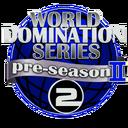 World Domination Series Preseason2 NC Decal