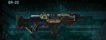 Arid forest assault rifle gr-22