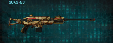Giraffe scout rifle soas-20