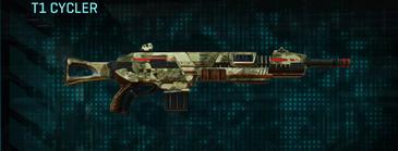 Palm assault rifle t1 cycler