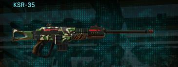 African forest sniper rifle ksr-35