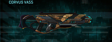 Indar plateau assault rifle corvus va55