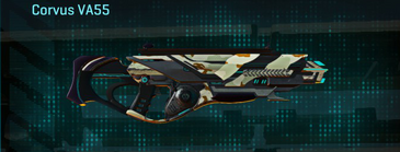 California scrub assault rifle corvus va55
