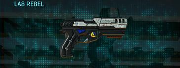 Rocky tundra pistol la8 rebel