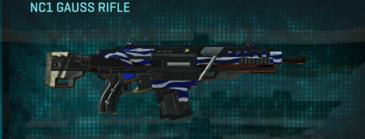 Nc zebra assault rifle nc1 gauss rifle