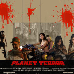 Planet Terror poster.