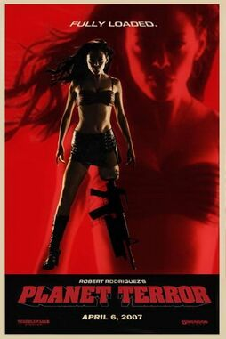 Planet Terror poster 2.