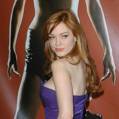Rose at the Madrid premiere.