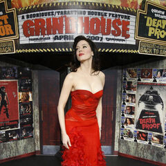 Rose McGowan at the Grindhouse premiere.