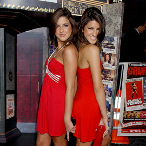 The twins at the Grindhouse premiere.